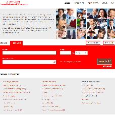 CandidatesDB website
