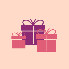 Virtual gifts - Exchange gifts for a fee