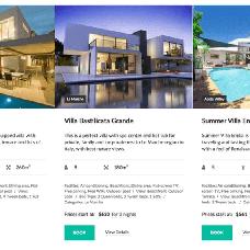Villagio Property Booking WordPress Theme 64831