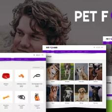 Petfinder - Pet Adoption and Rescue WordPress Theme
