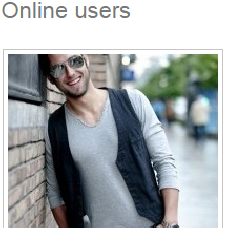 Online users - Show people who are online now