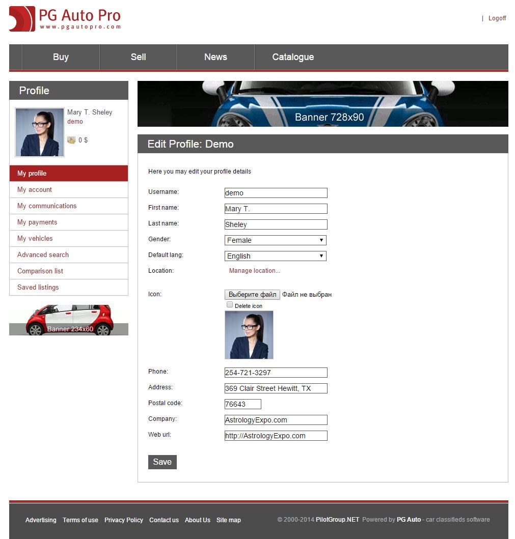 Auto pro open code licenses pilot group marketplace for Motor car portfolio site inventory