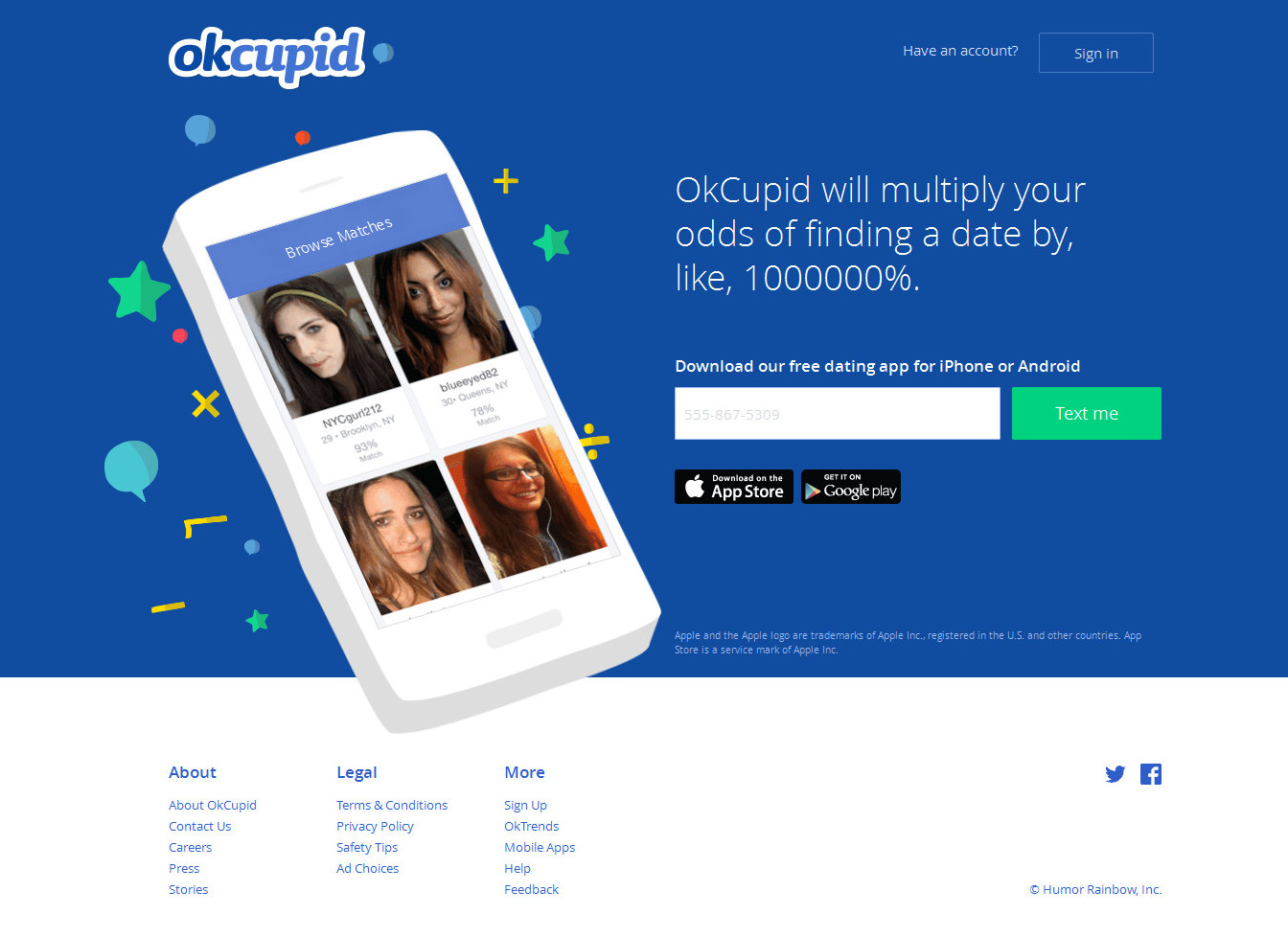 Okcupid mobile  Mobile Site? : OkCupid  2019-06-12