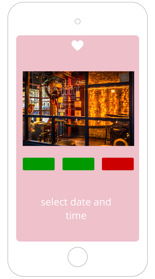 Book a date app - Plan a date via mobile app