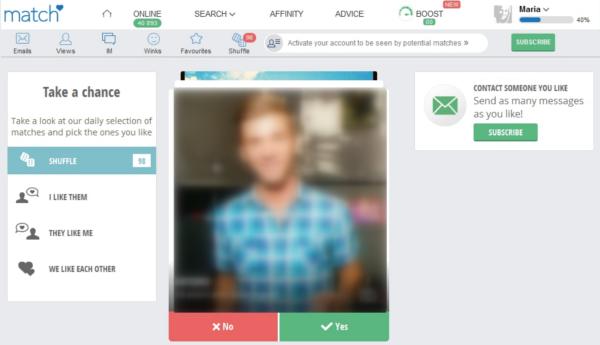dating sites like match com