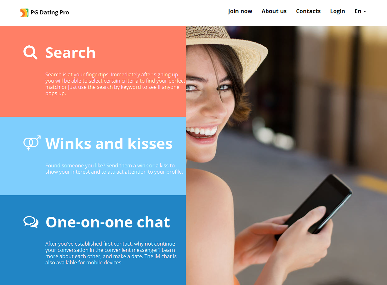 dating website wink