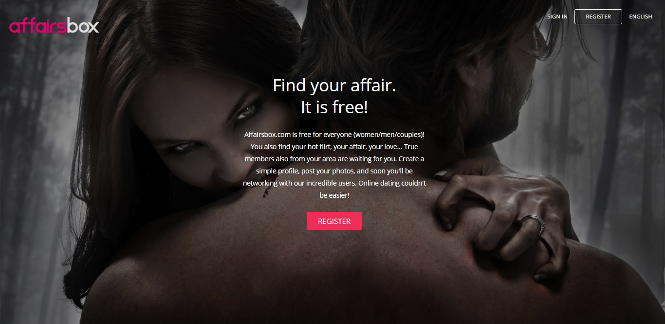 AffairsBox.com website