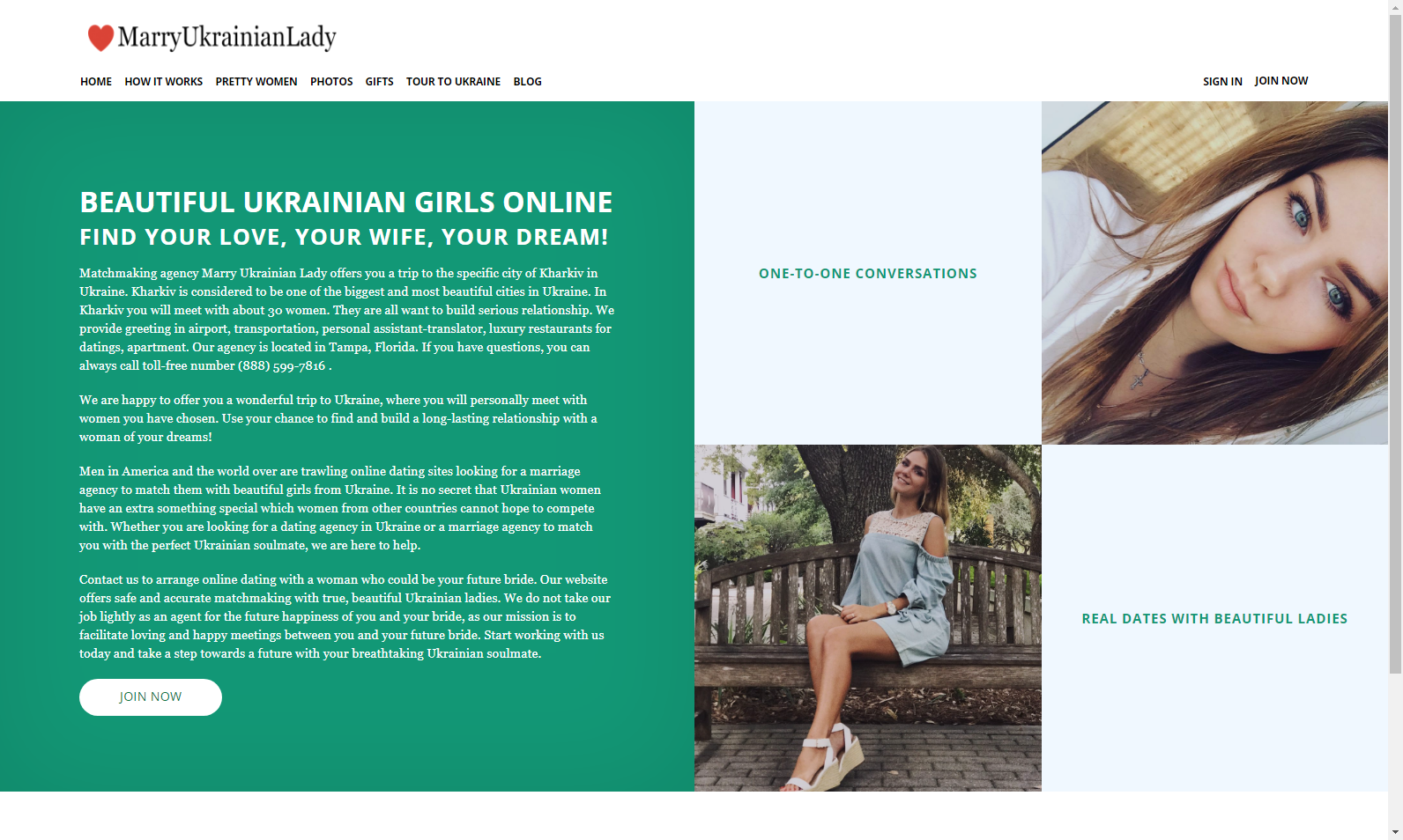 Ukraine marriage website