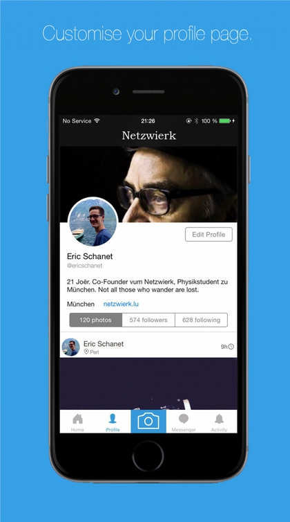 Social Network Mobile Apps for iOS & Android 2016