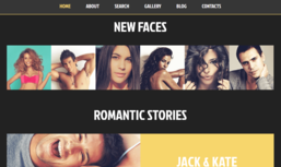 Dating Responsive WordPress Theme 49499